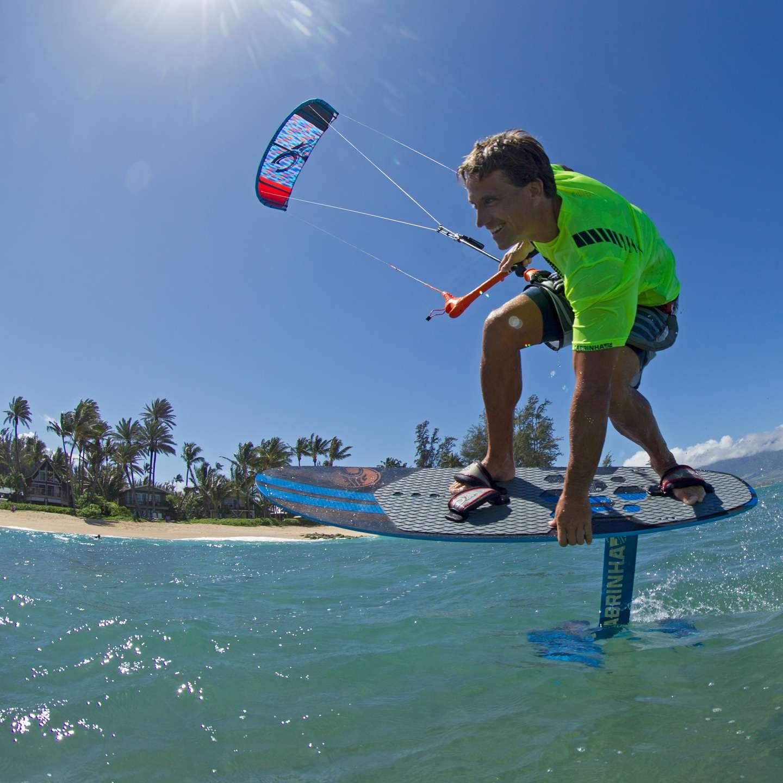 curso de kitesurf en tarifa hydrofoil