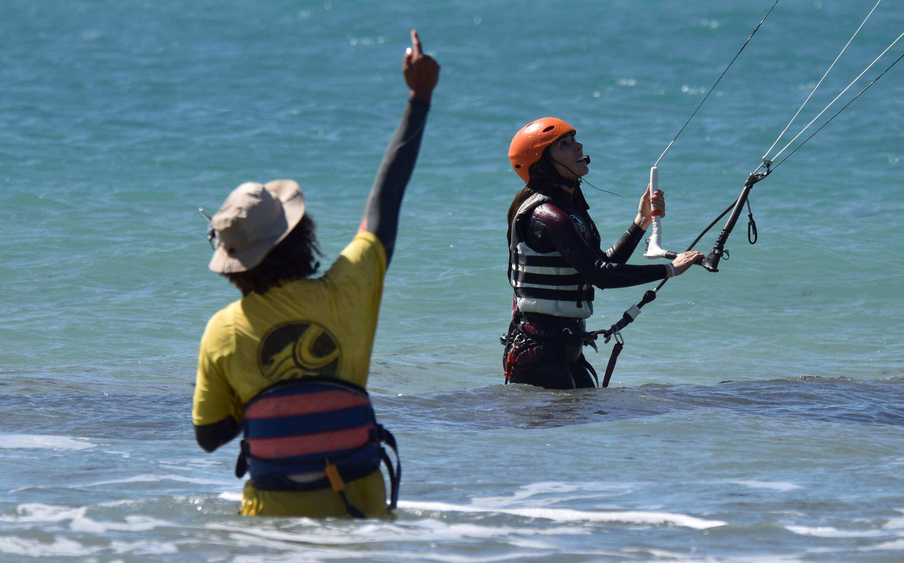 Curso de kitesurf en tarifa privado